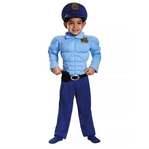Other - Power Suits Toddler Policemen muscle chest Costume